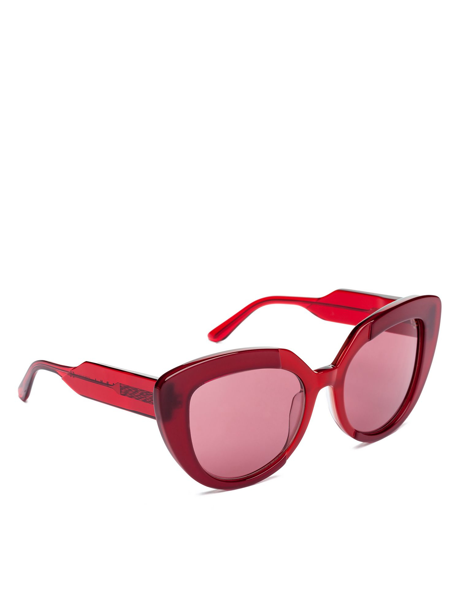 Marni Prisma Glasses In Low Relief Acetate in Purple Lyst
