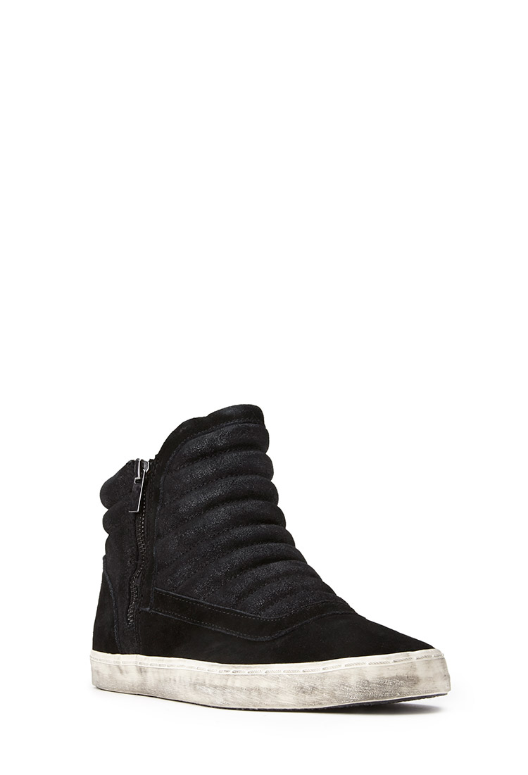 Forever 21 Futuristic Sneakers In Black Lyst