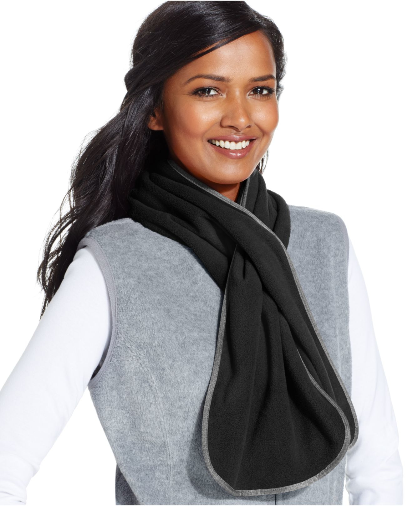 style co style co fleece oblong scarf only at macy s