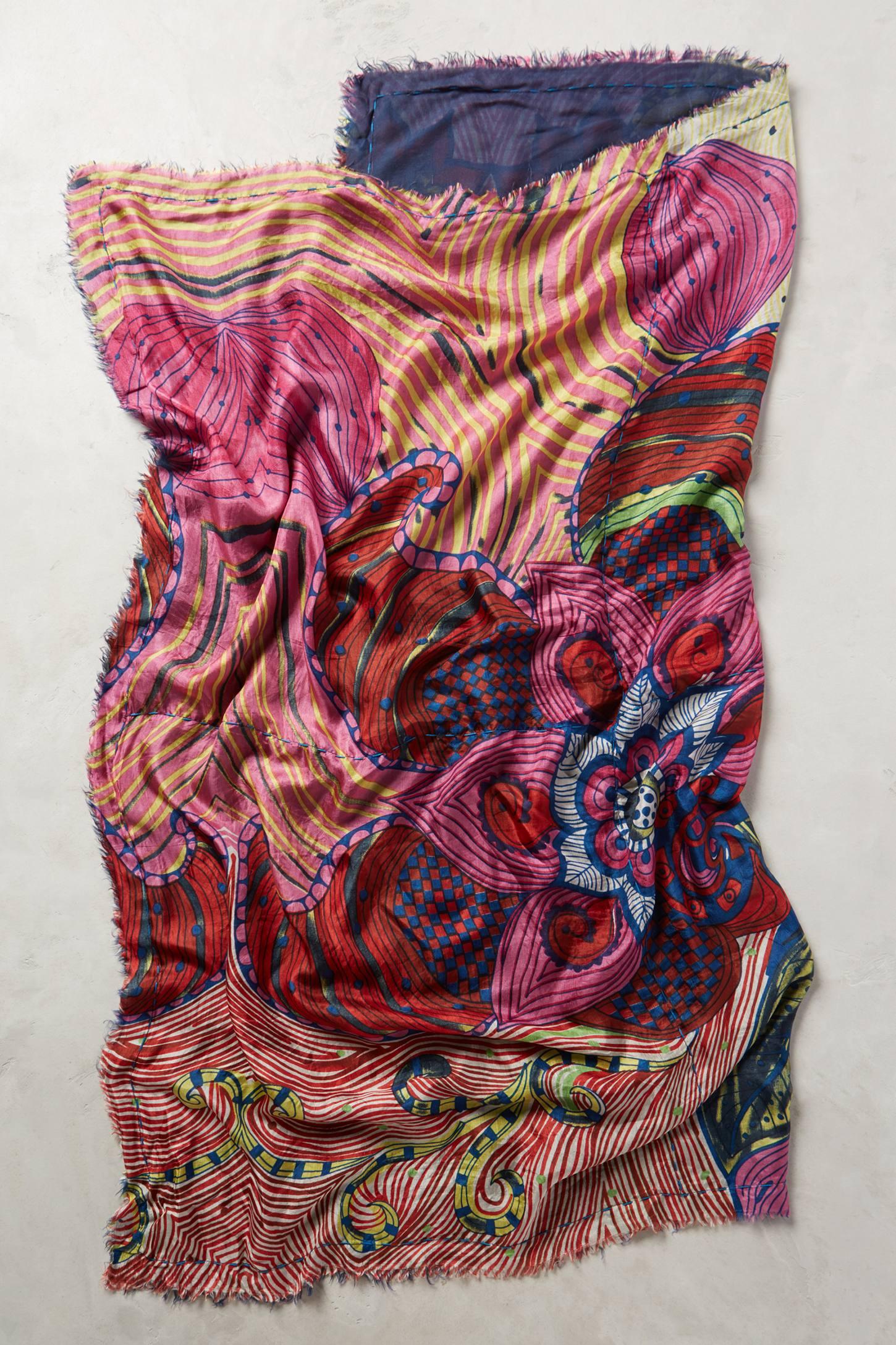 erfurt zauschneria square scarf in purple lyst