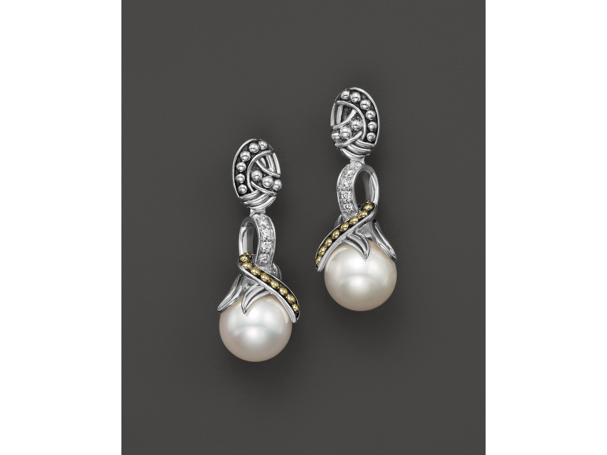 Lagos Freshwater Pearl Drop Earrings trRDfK1oY8