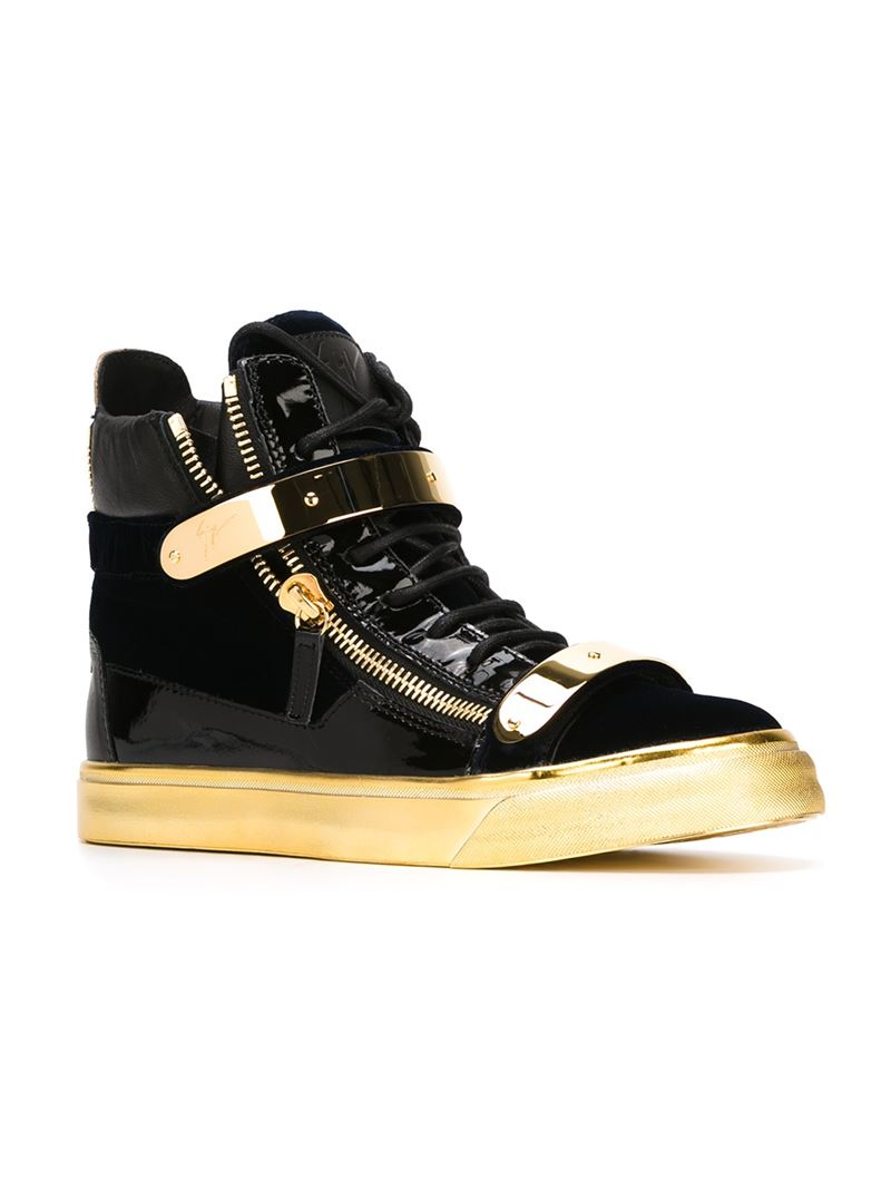 visit online clearance with credit card Giuseppe Zanotti Design Coby hi-top sneakers V2QK0wz8T