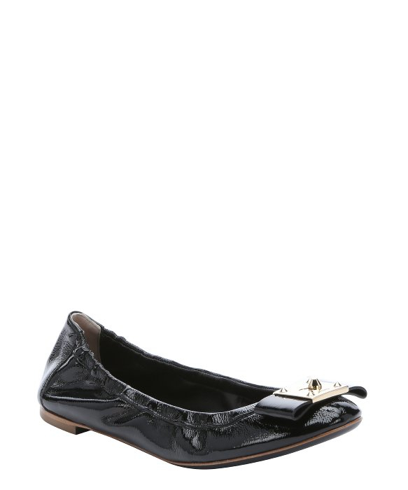 Fendi Patent Leather Flats Wcsi183J8H