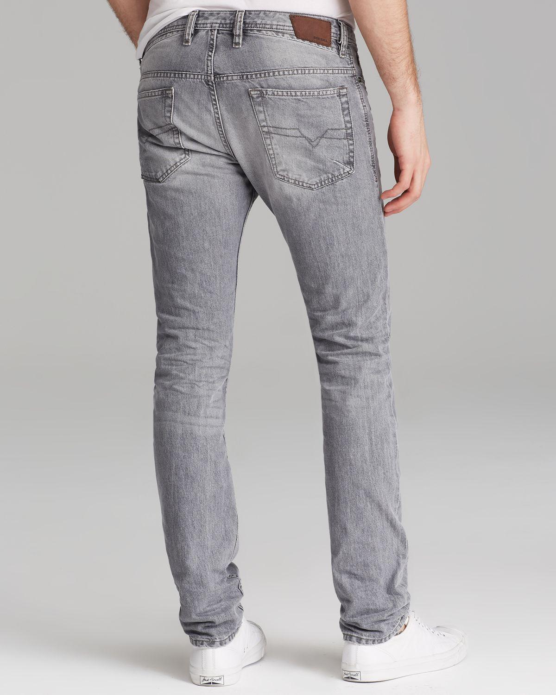 168205cac821 ... DIESEL Jeans Thavar Slim Fit in Grey in Gray for Men · DIESEL ...