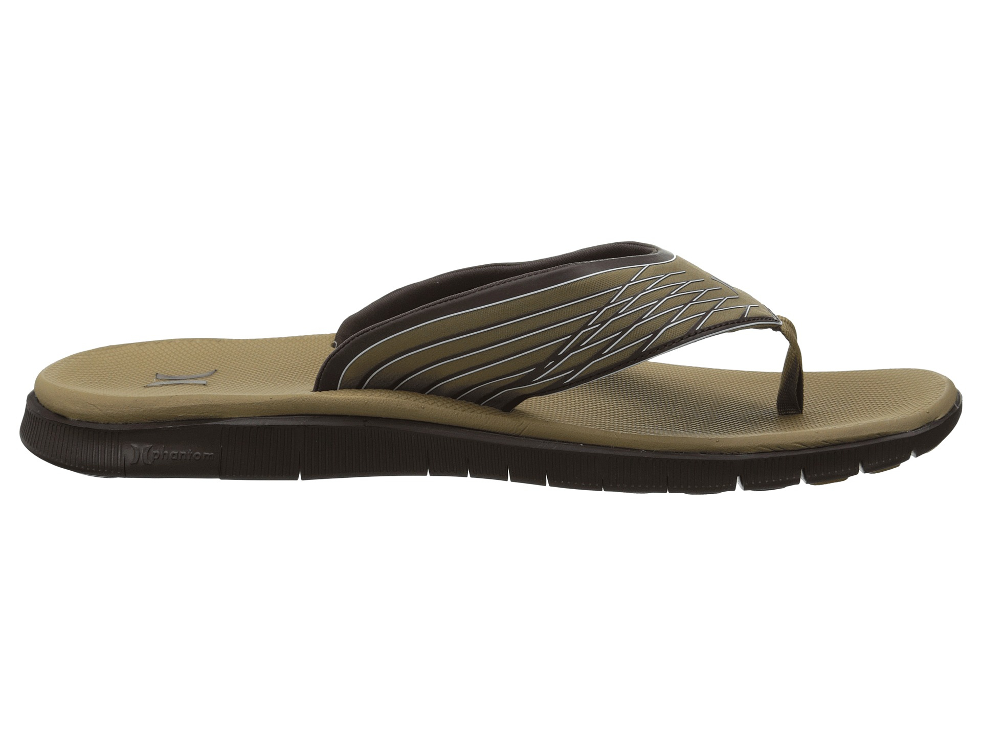 ec75ee75e742 Lyst - Hurley Phantom Sandal in Brown for Men