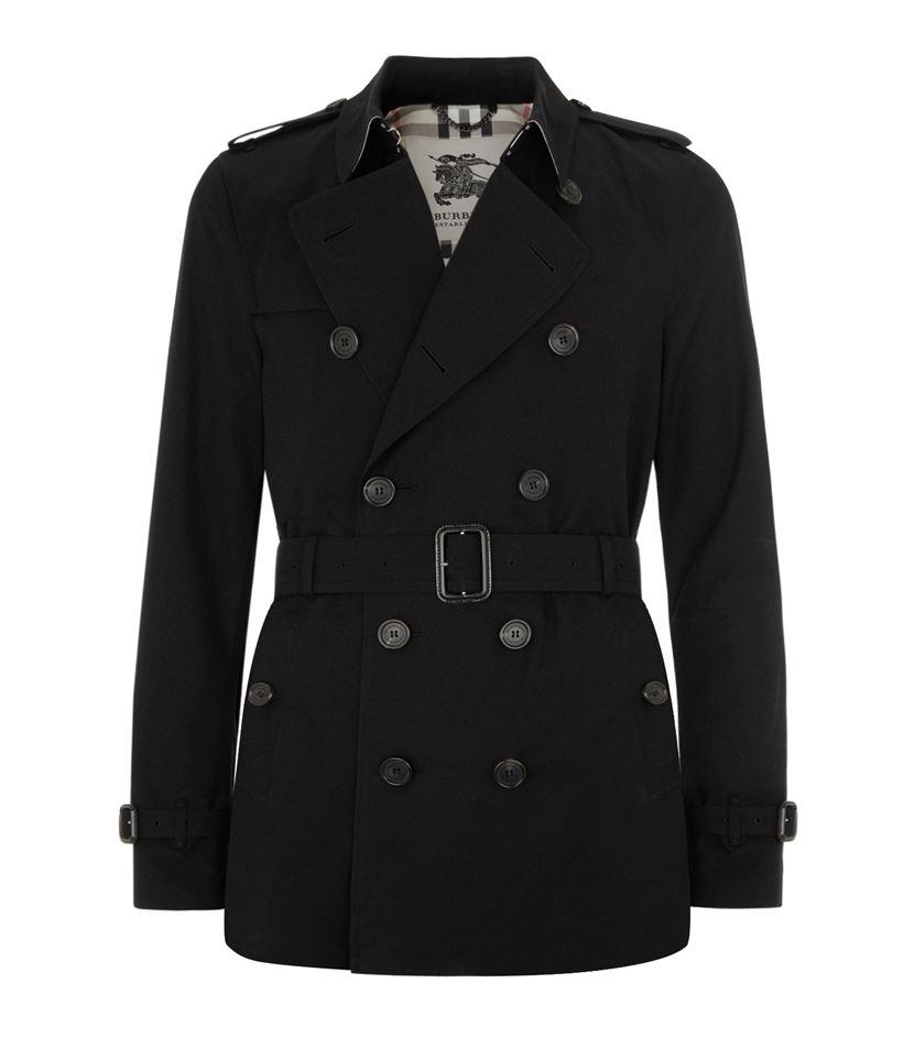 Burberry The Kensington Short Heritage Trench Coat in ...