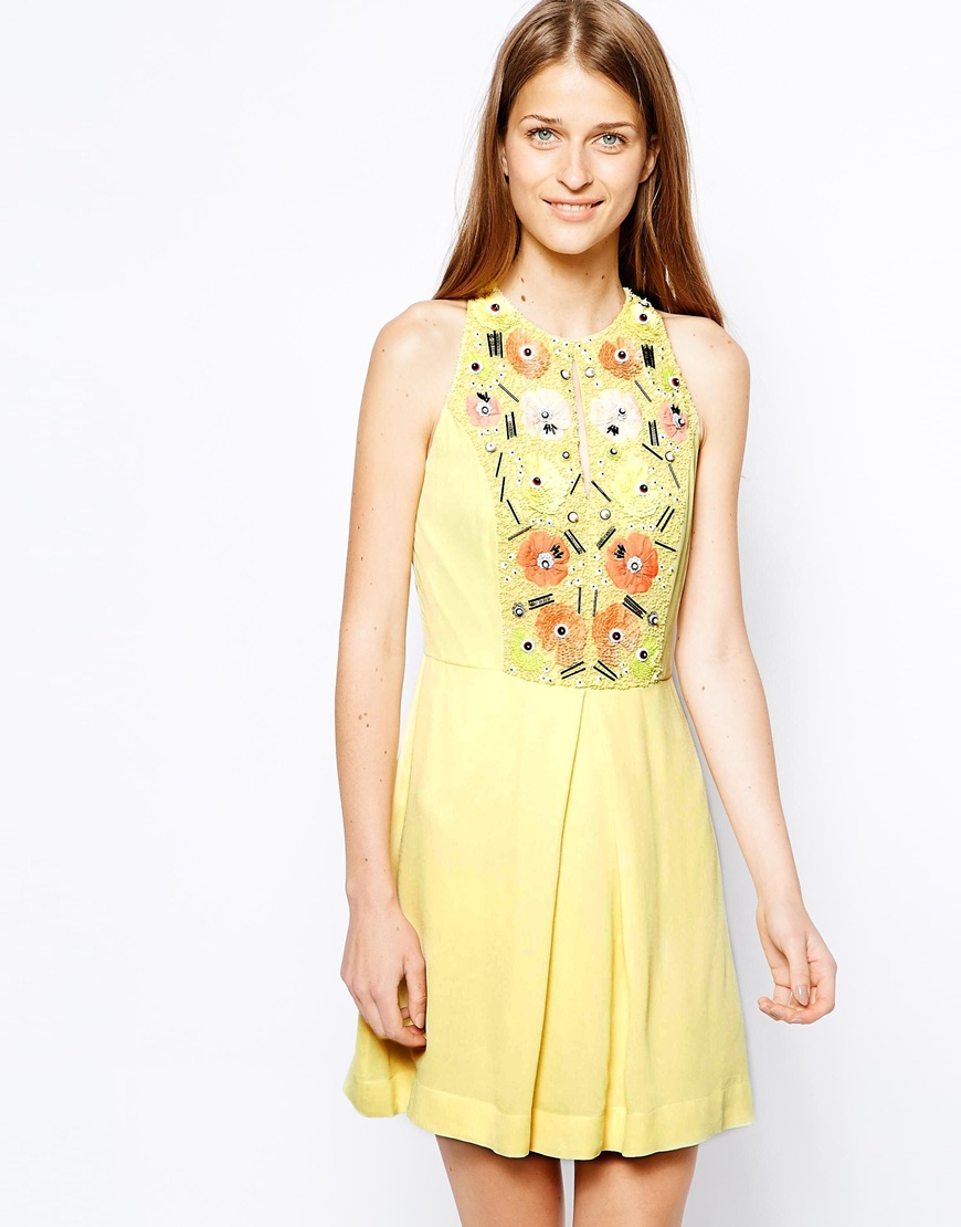 French connection summer bark dress
