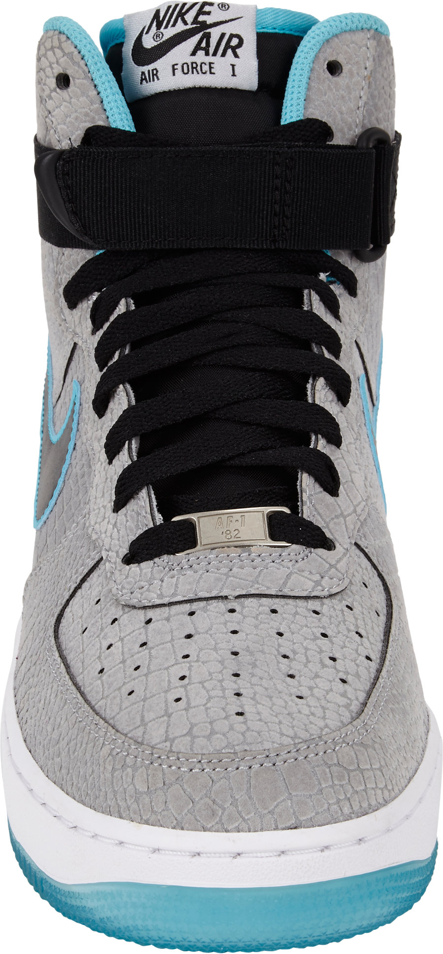 the latest f1887 e8e81 ... store lyst nike air force 1 hi premium comfort sneakers in blue for men  dedfe b578b ...