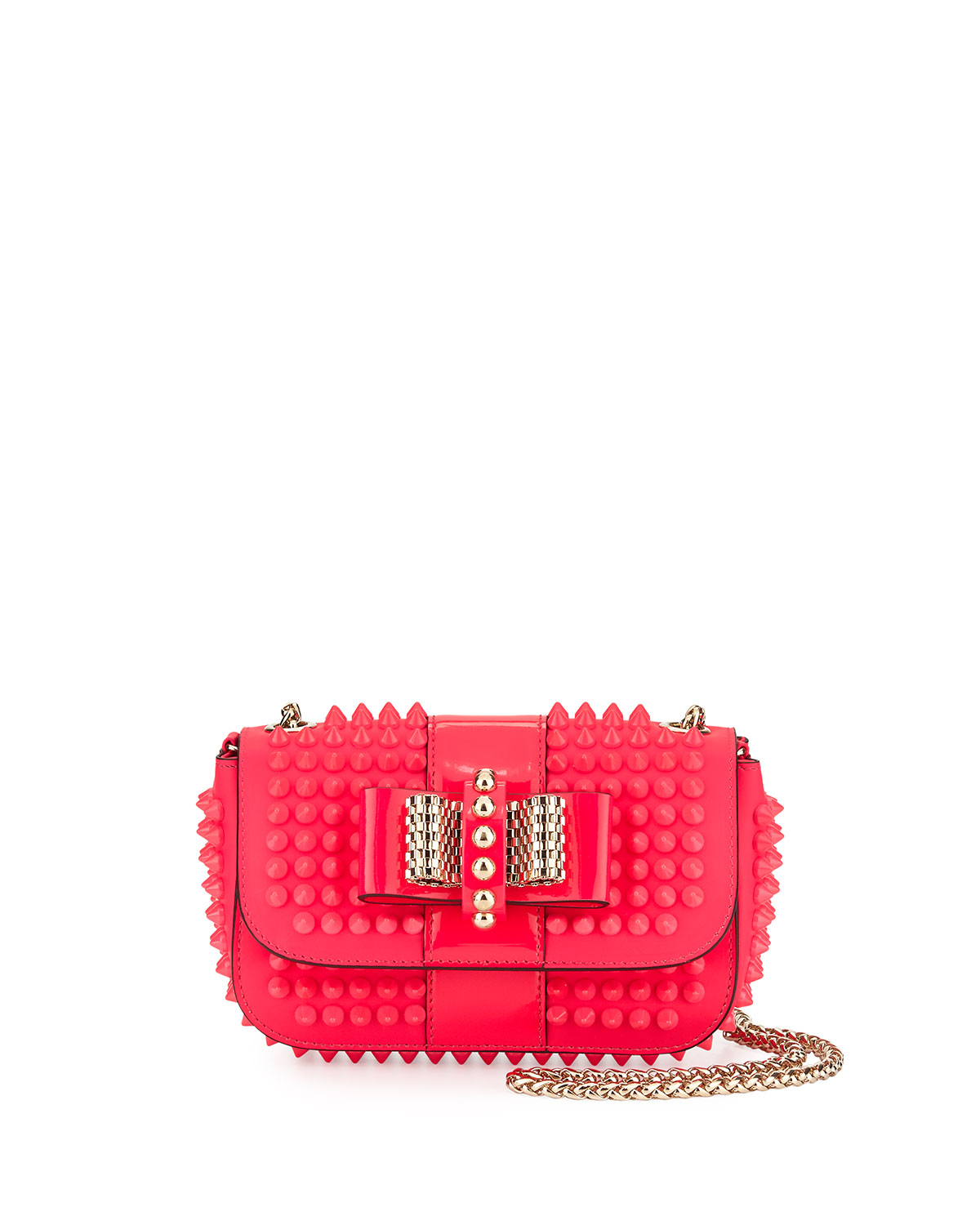 4c2bd9c1df2 Christian Louboutin Sweet Charity Small Cross-Body Bag in Pink - Lyst