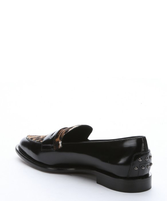 Tod's Leopard Print Penny Loafers free shipping best outlet fake buy cheap new arrival cheap newest cheap prices 0LfJTr