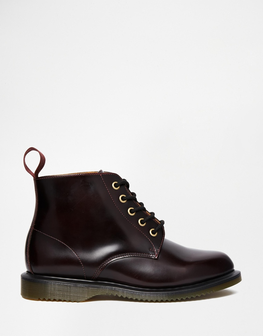 Eye Cherry 5 Black Kensington Martens Lyst Dr Emmeline Boots In wqZXqgR