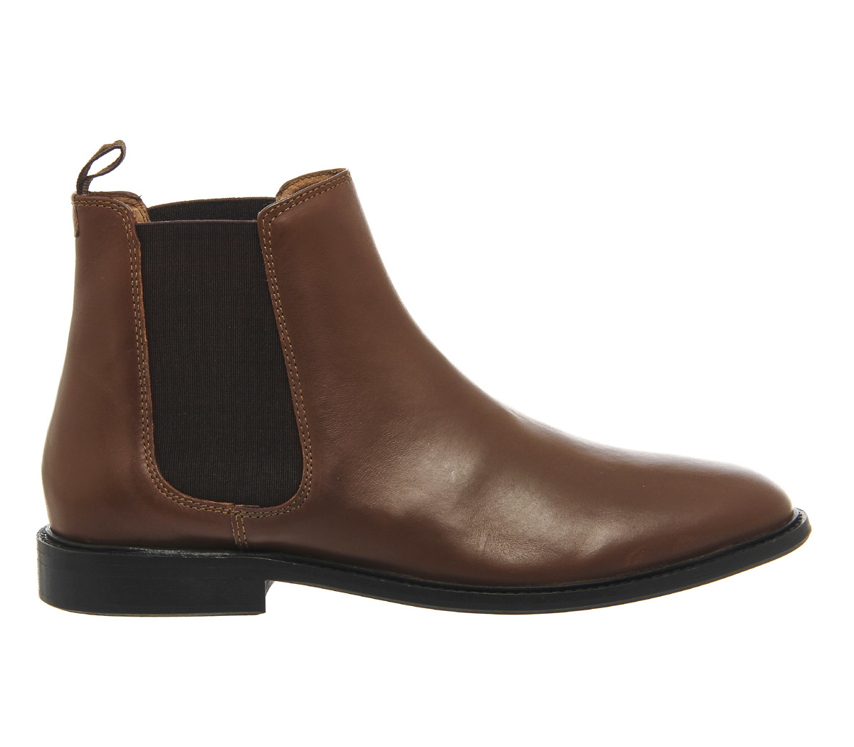 office cramble chelsea boots in brown for lyst