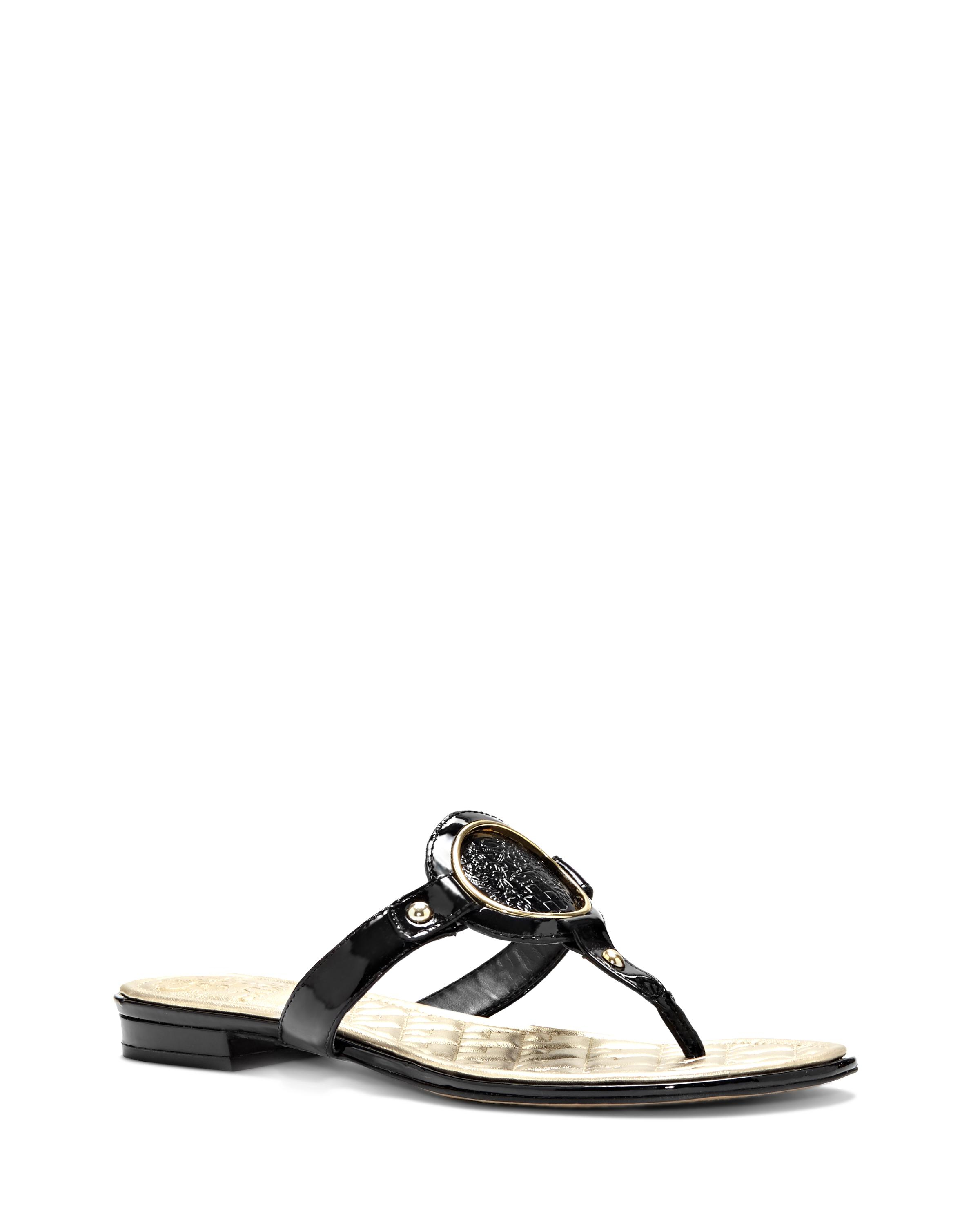 Vince Suede Thong Sandals discount visit new s6NK1J