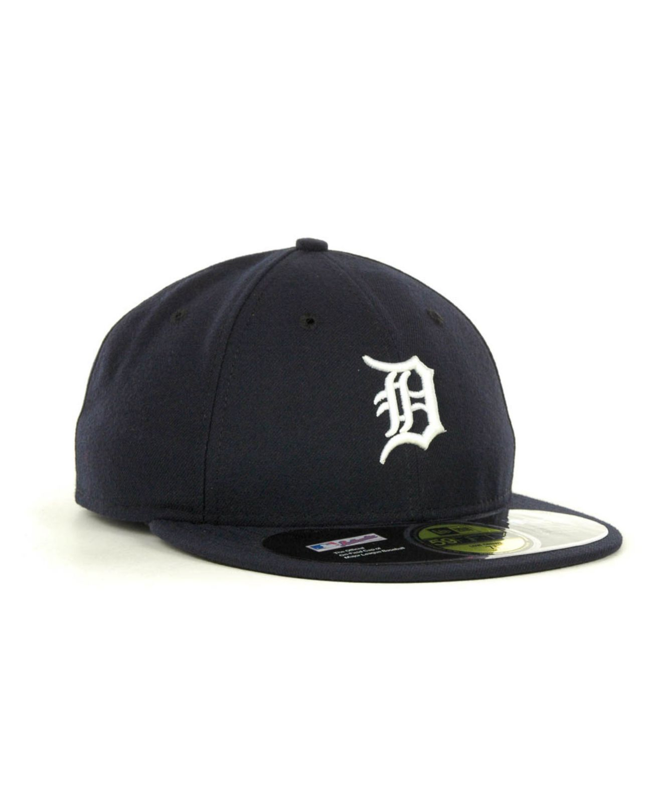 outlet store 535db 816d5 KTZ Detroit Tigers Low Crown Ac Performance 59fifty Cap in Blue for ...