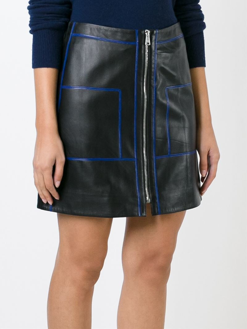 80a3c214de Gallery. Previously sold at: Farfetch · Women's Leather Skirts ...