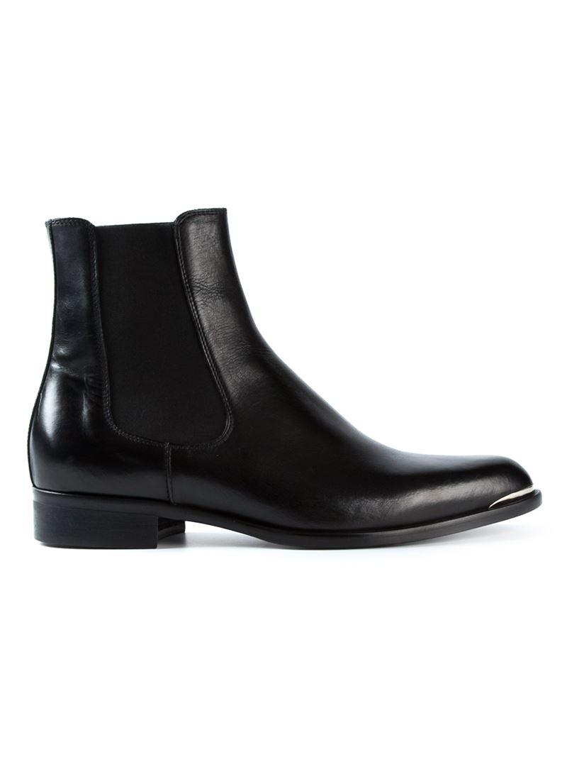 f4c1af0c801e17 Diesel Black Gold Chelsea Boots in Black for Men - Lyst