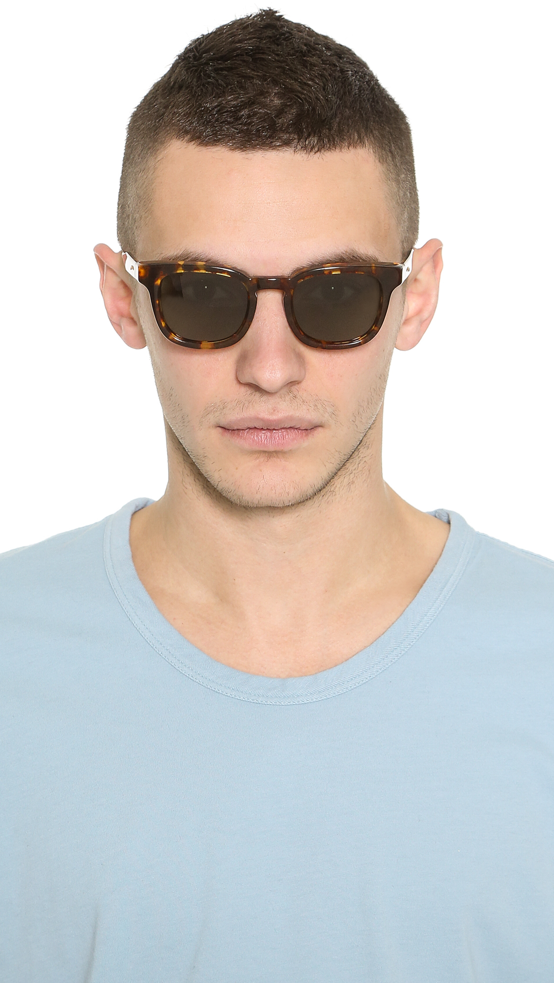 a8c5fb214d Lyst - Oliver Peoples Cabrillo Sunglasses in Brown for Men