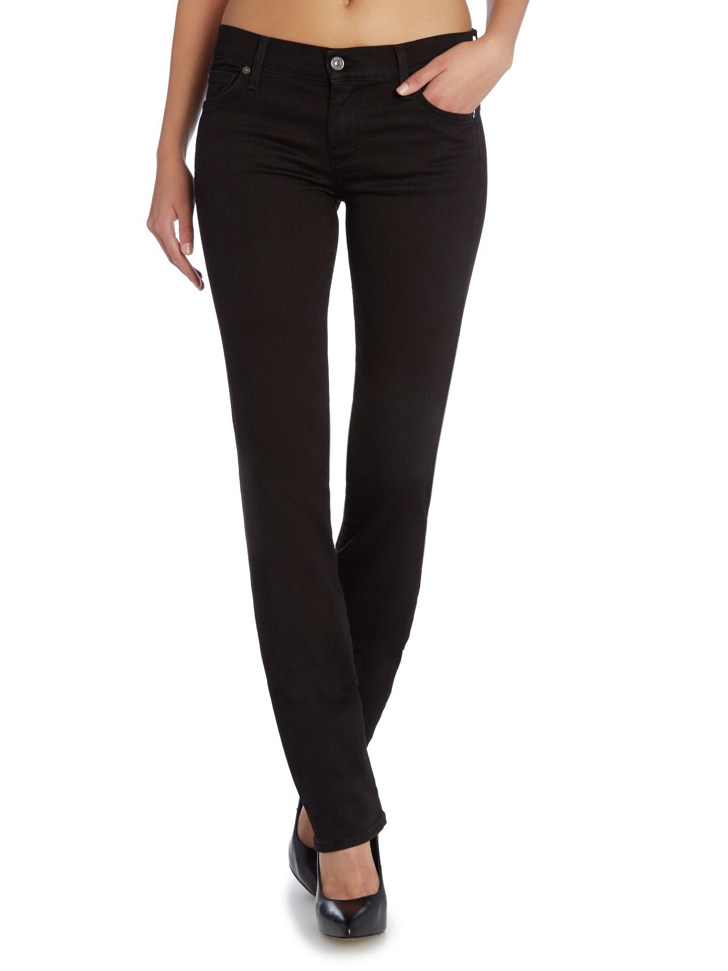 seven jeans black - Jean Yu Beauty
