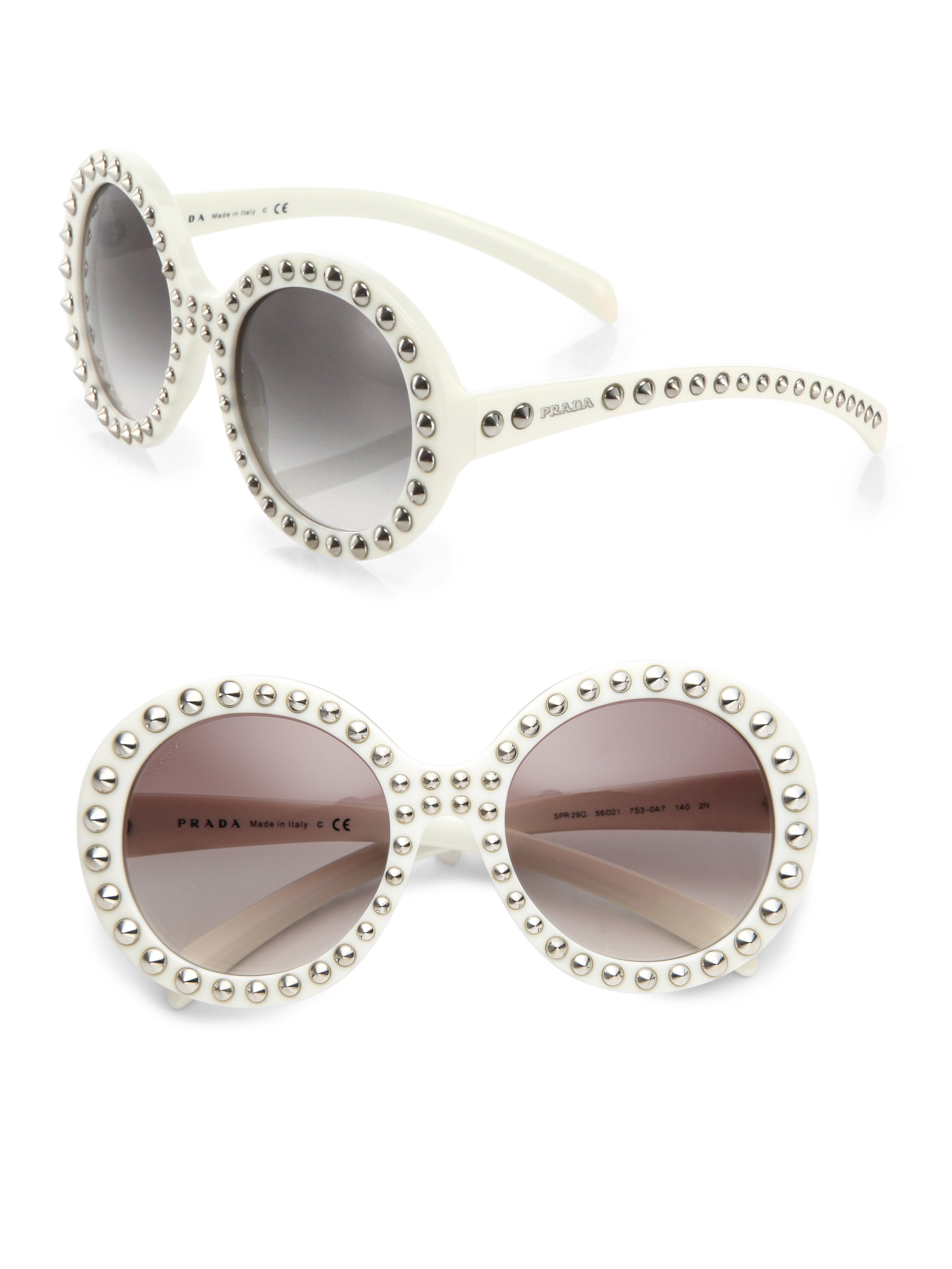 Prada Round Rimless Sunglasses | City of Kenmore, Washington