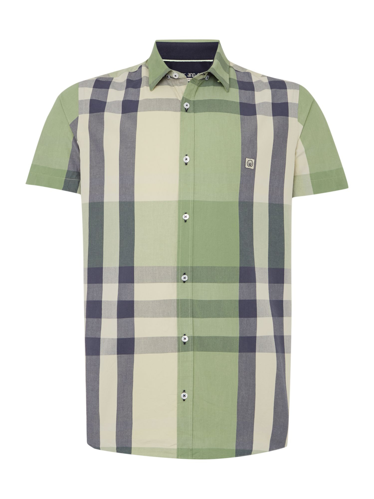 lyst duck and cover stripe classic fit short sleeve