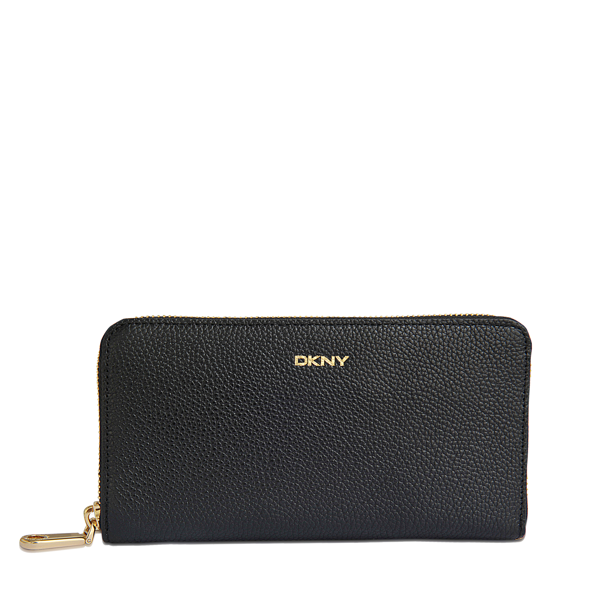 Dkny Taupe Saffiano Leather Wallet in Beige | Lyst |Dkny Wallet