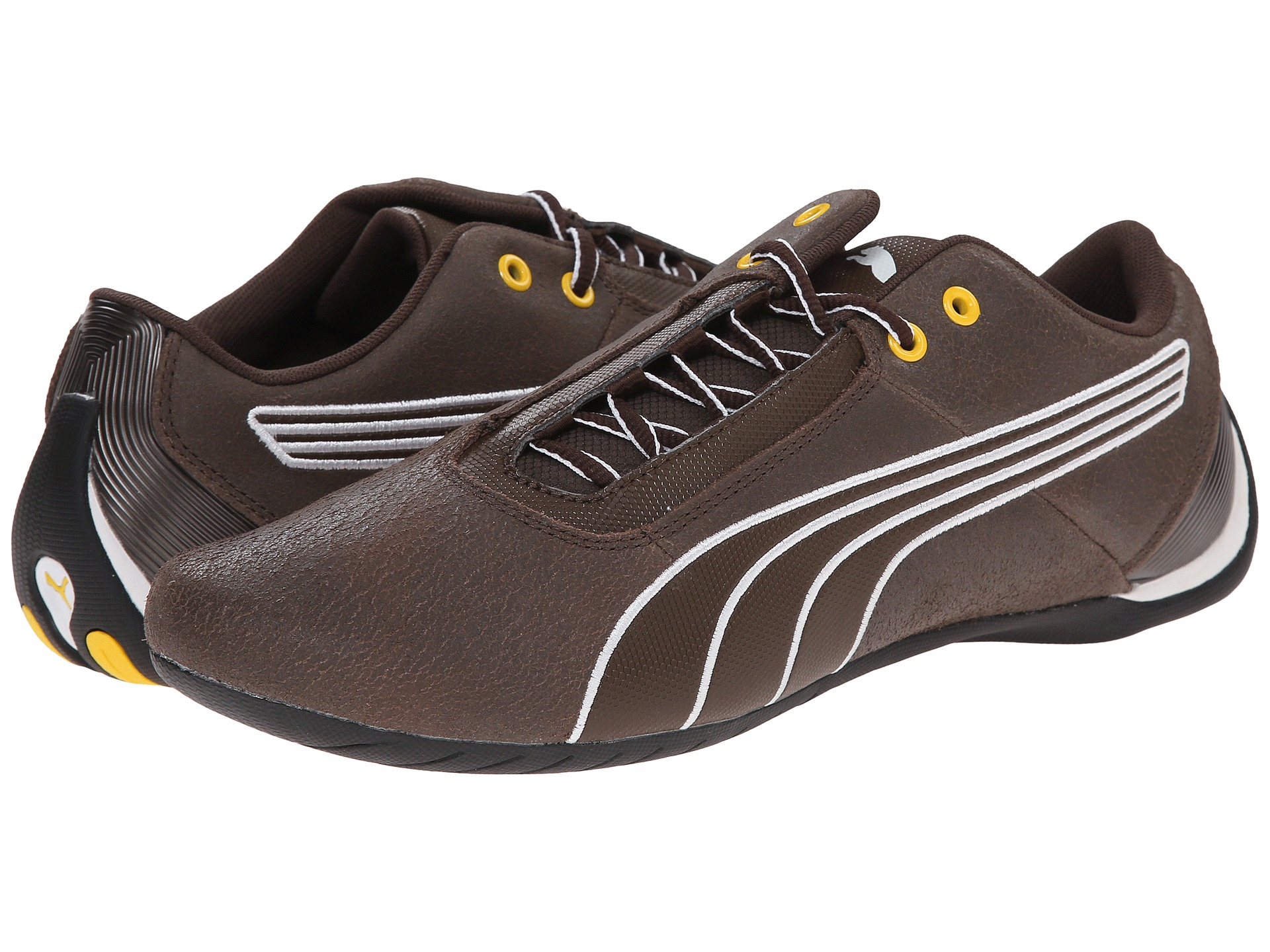 Lyst - PUMA Future Cat S1 Leather in Brown for Men dc6221345
