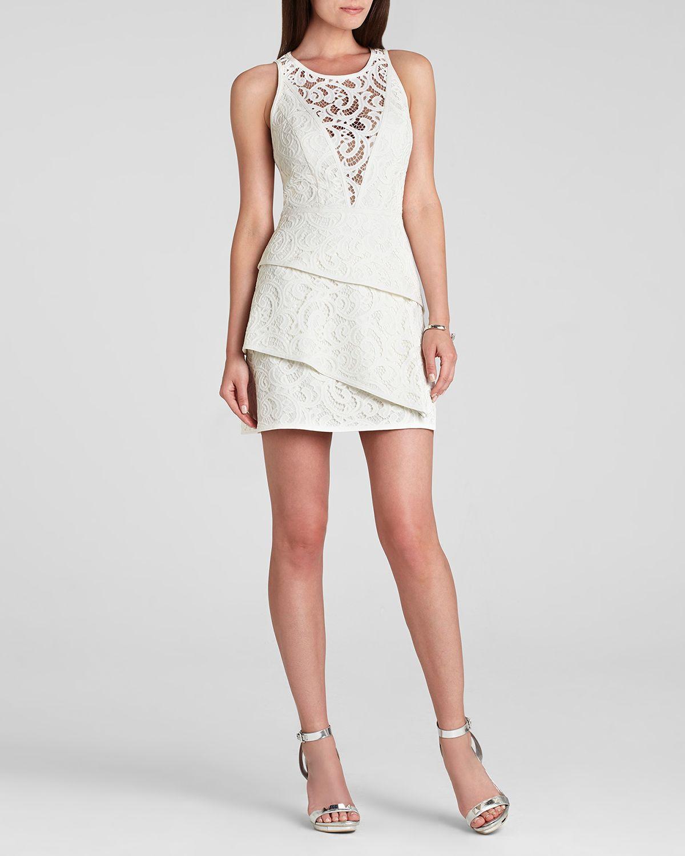 Bcbgmaxazria Bcbg Max Azria Dress Hanah Sleeveless Lace ...