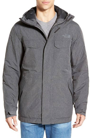 The North Face 'grays Harbor' Dryvent Parka in Gray for Men