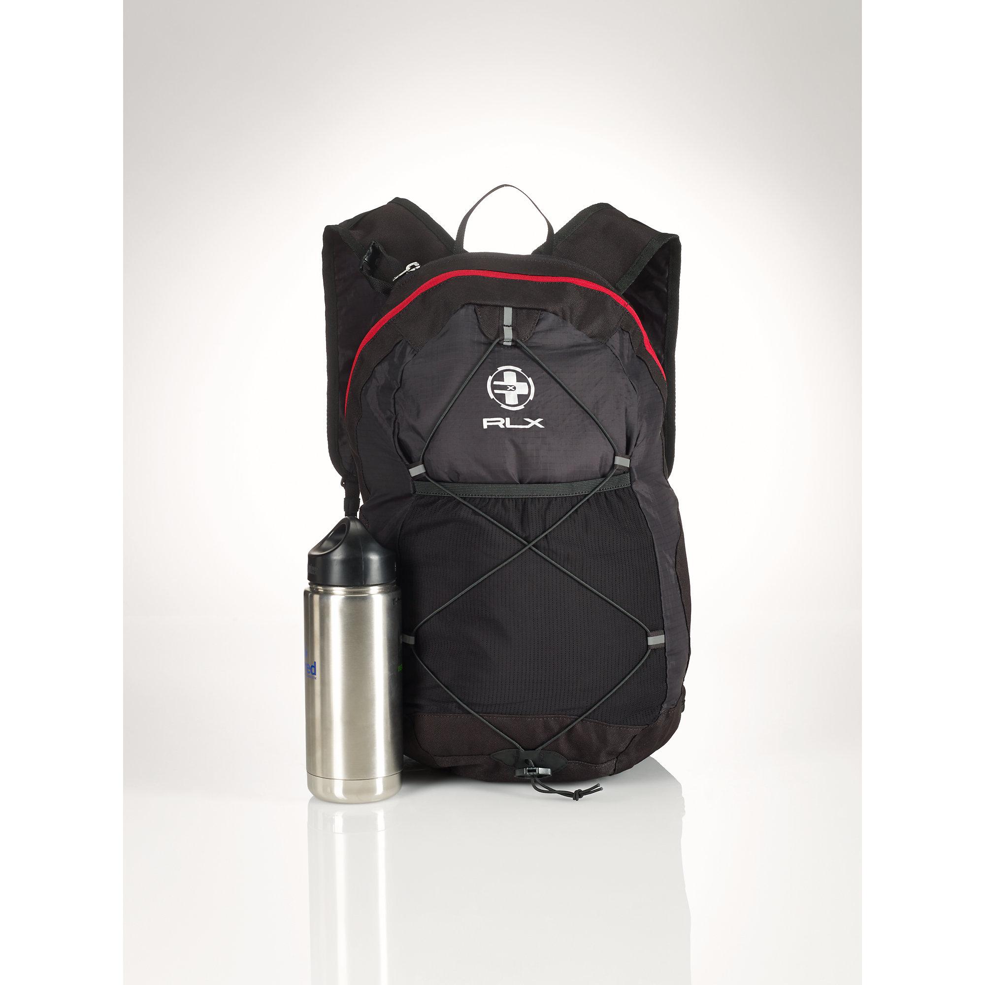 9bcd4ff9e9 Lyst - Polo Ralph Lauren Rlx Packable Nylon Backpack in Black for Men