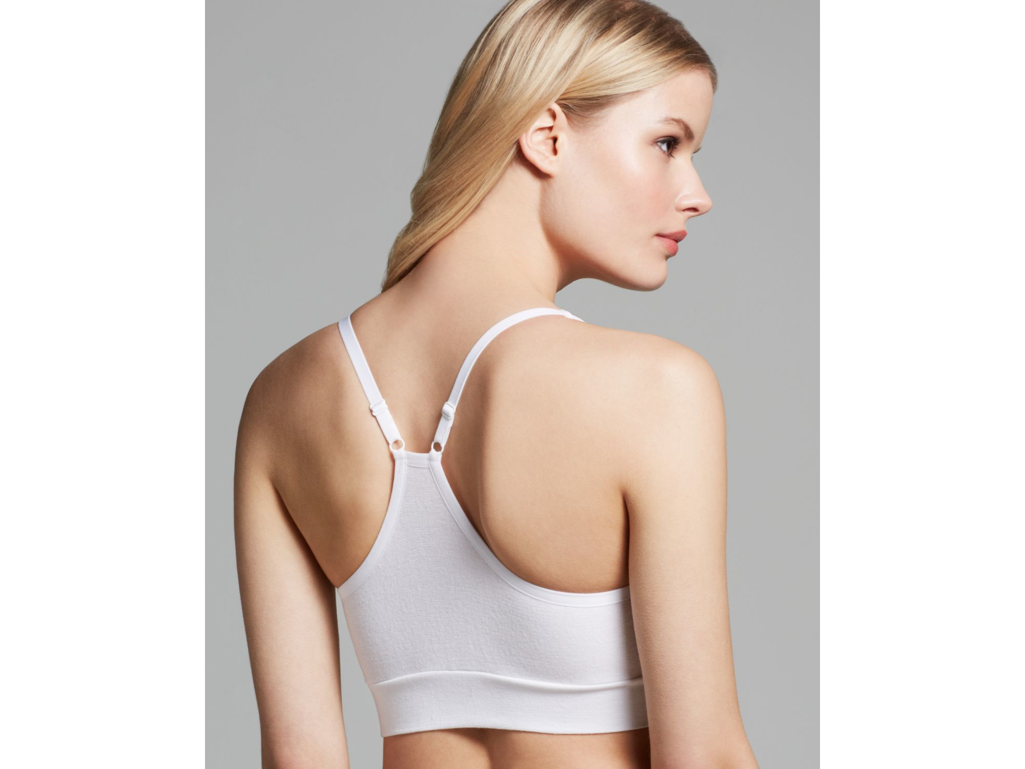af97d85f8d388 Lyst - Yummie By Heather Thomson Bra - Mallory Seamless Racerback ...