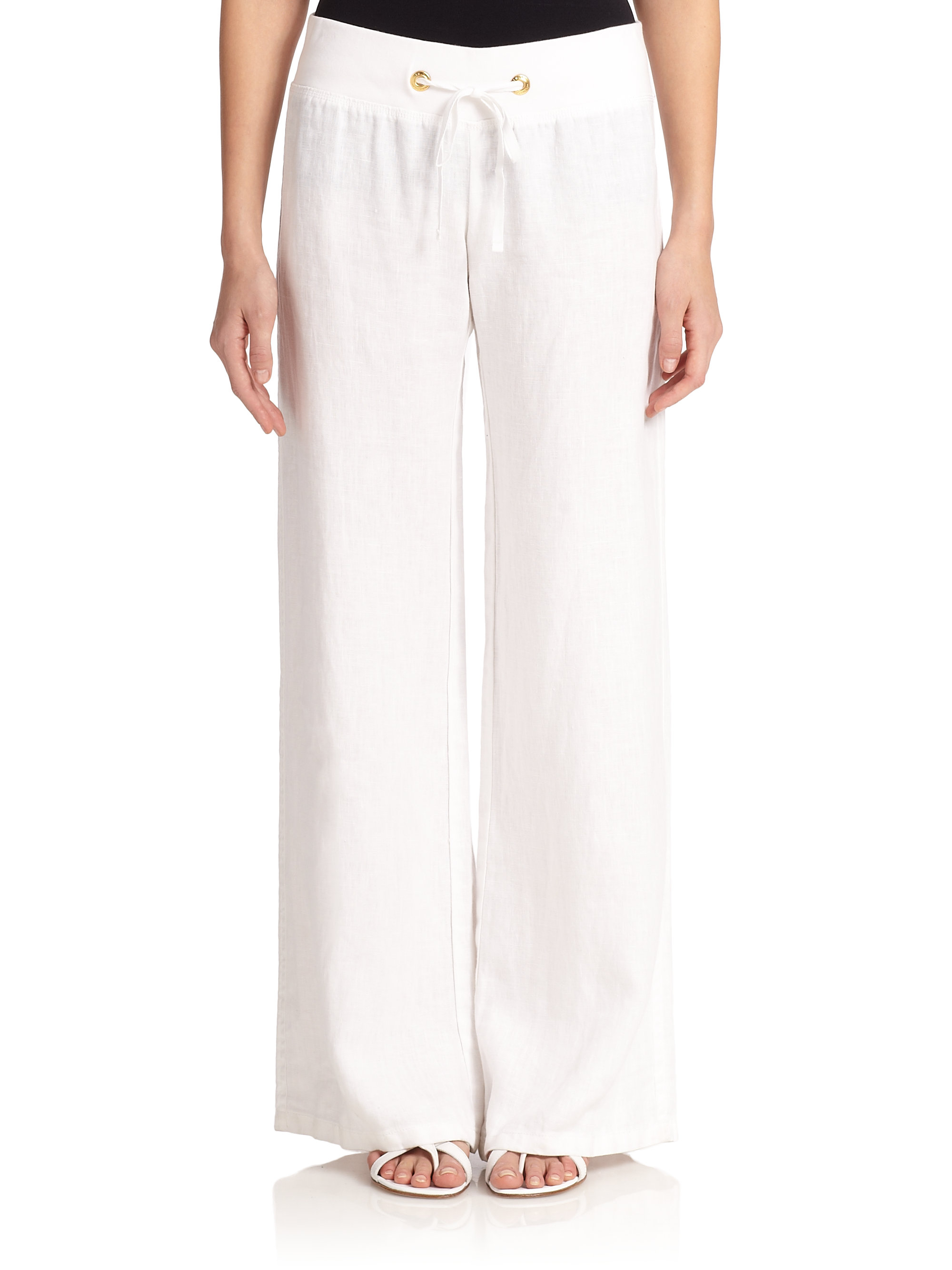 9c5c36ca796b6b Gallery. Previously sold at: Saks Fifth Avenue · Women's Linen Pants