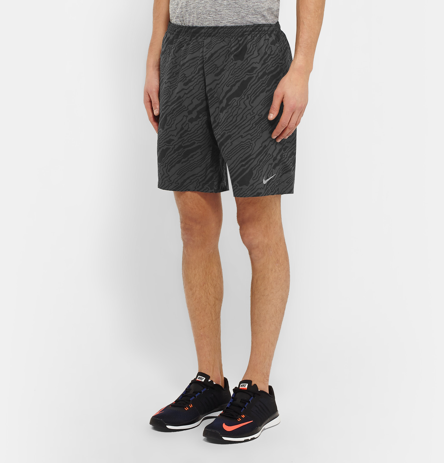 c4866c452169c In Men Distance Nike Lyst Shorts Fit Printed Elevate For Gray Dri xATOqYazw