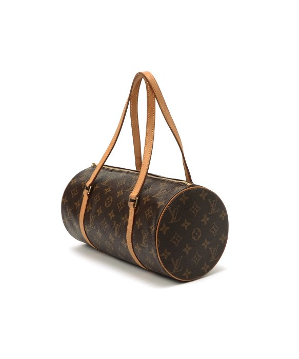 Louis Vuitton Preowned Brown Monogram Canvas Papillon 30 Bag with ... 7930126f115d0