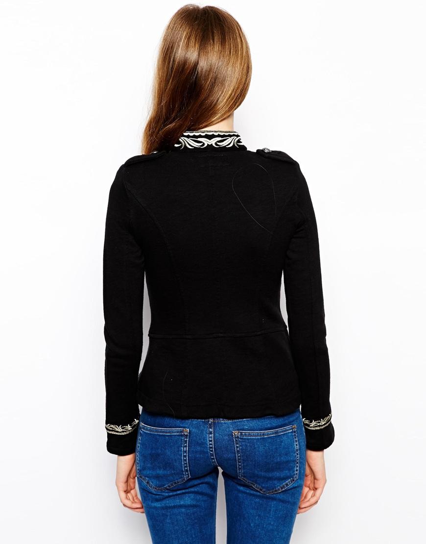 Lyst Denim Amp Supply Ralph Lauren Military Jacket In Black