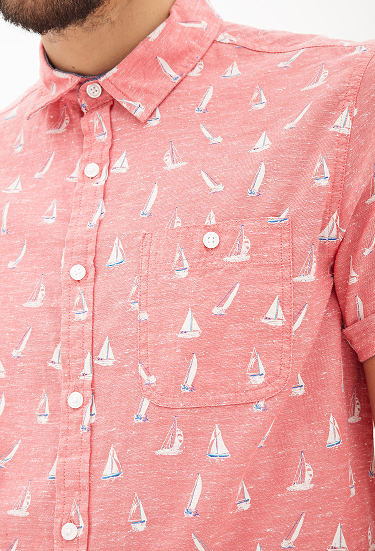 Chambray Mens Shirts