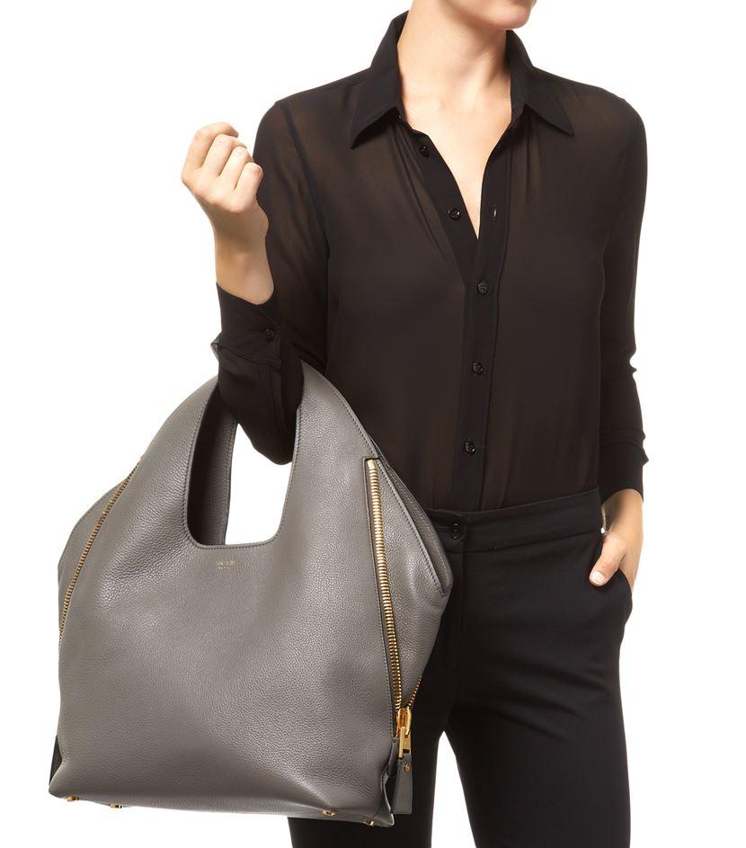 9d937461260f67 Tom Ford Jennifer Hobo Bag in Brown - Lyst