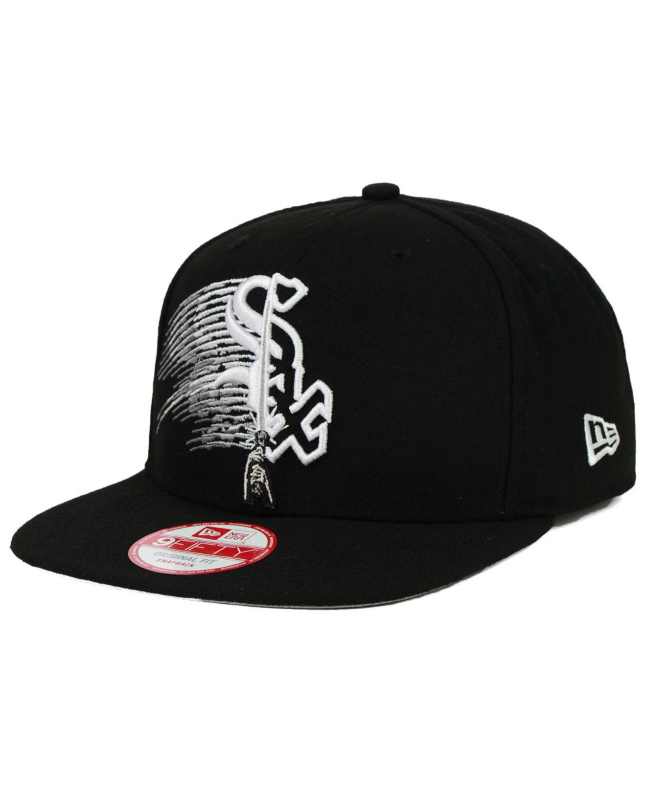 new arrival e5904 046a2 KTZ Chicago White Sox Star Wars Logoswipe 9fifty Snapback Cap in ...