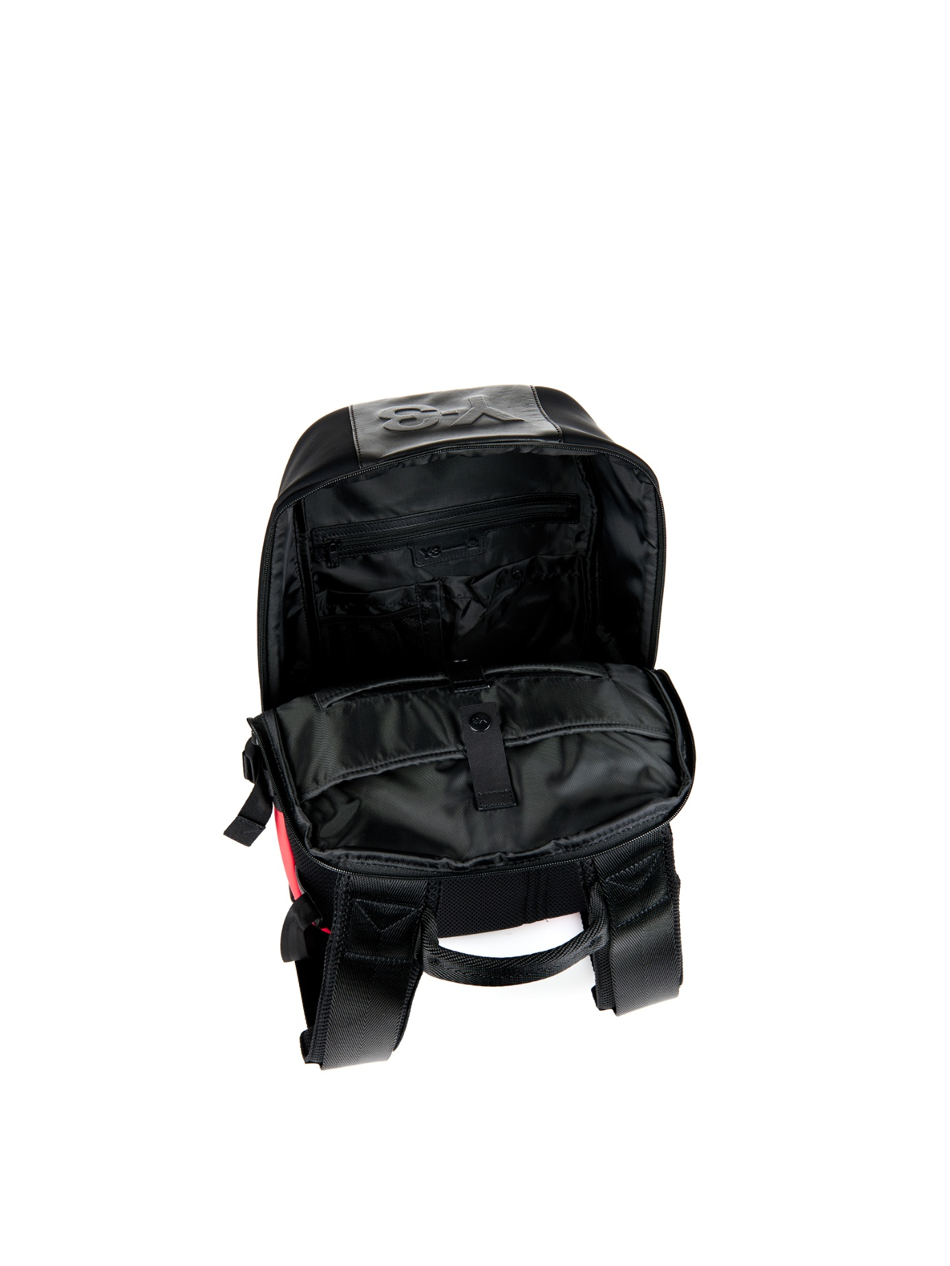 Y-3 Day Ii Neoprene And Leather Backpack in Black for Men - Lyst 72694e15528ab