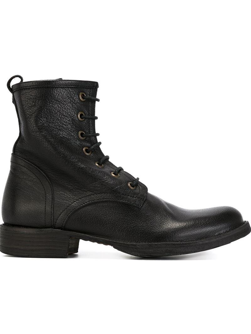fiorentini baker 39 eternity elme 39 boots in black for men. Black Bedroom Furniture Sets. Home Design Ideas