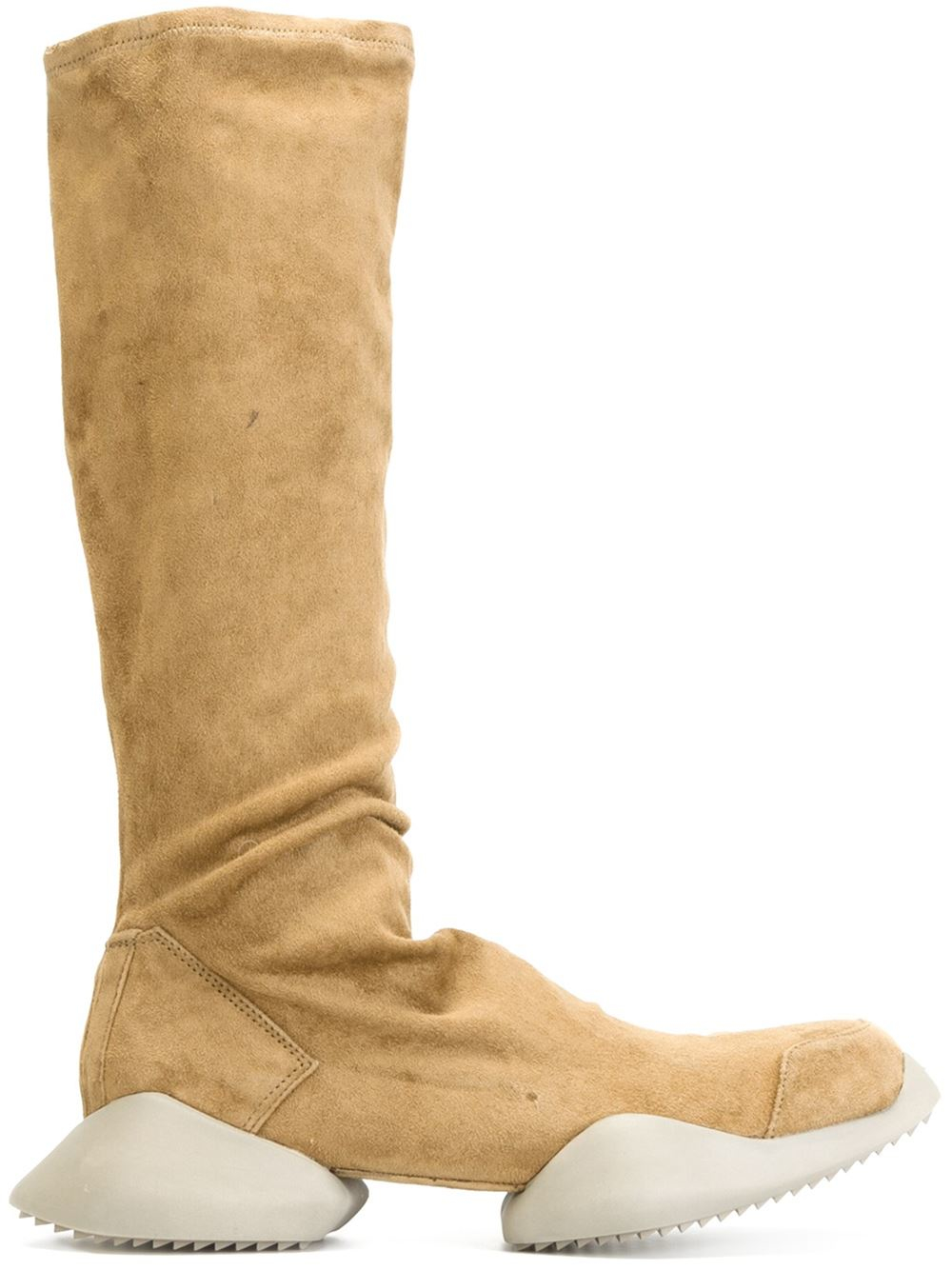 7944fe191c3 Lyst - Rick Owens X Adidas  tech Runner  Boots in Natural
