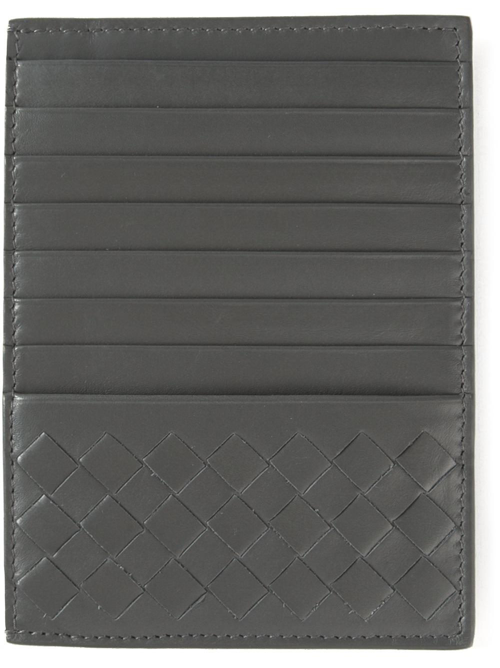 Intrecciato leather cardholder Bottega Veneta xBdhb