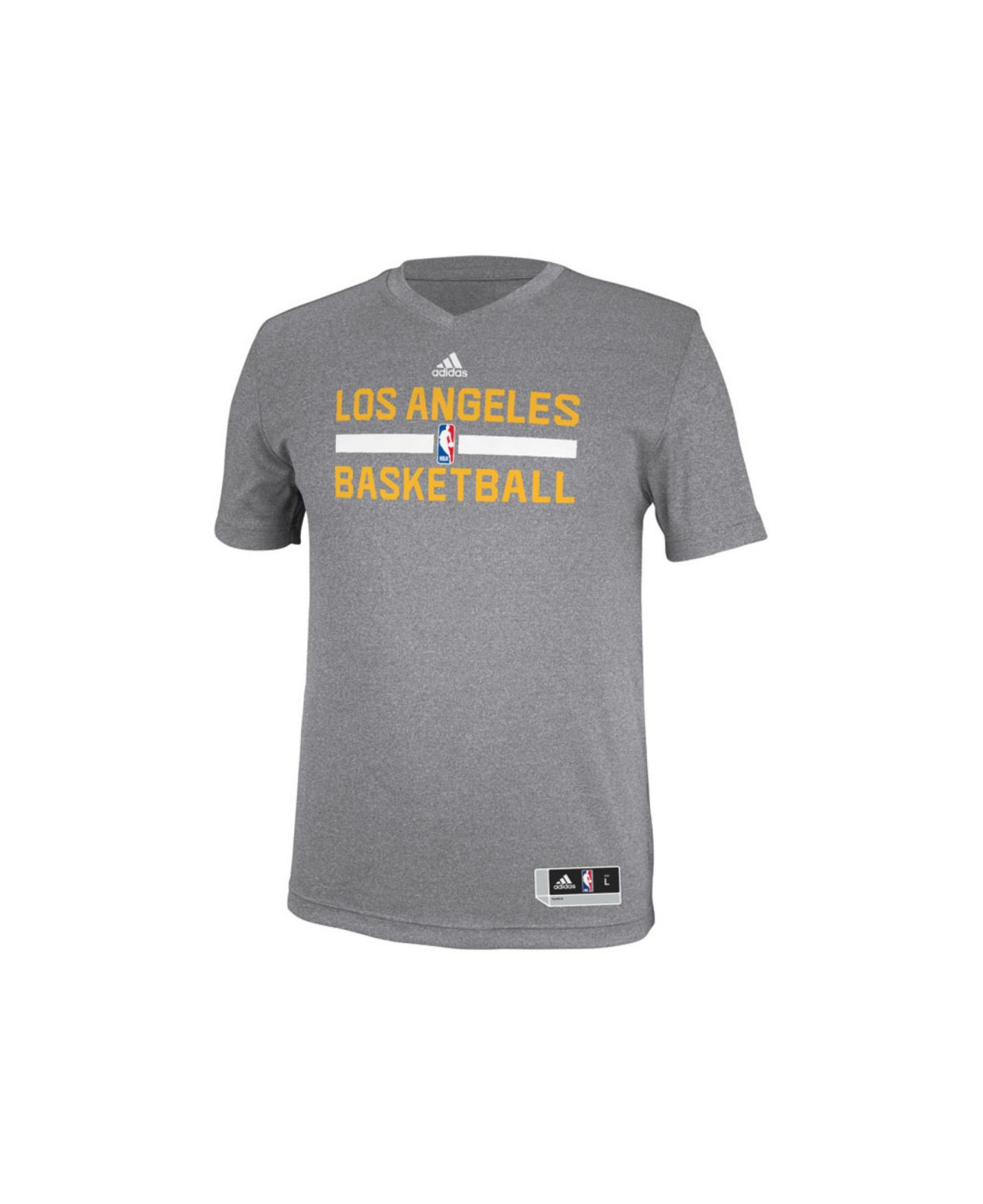 Lyst - adidas Men S Los Angeles Lakers Practice Graphic T-Shirt in ... c61d13bca