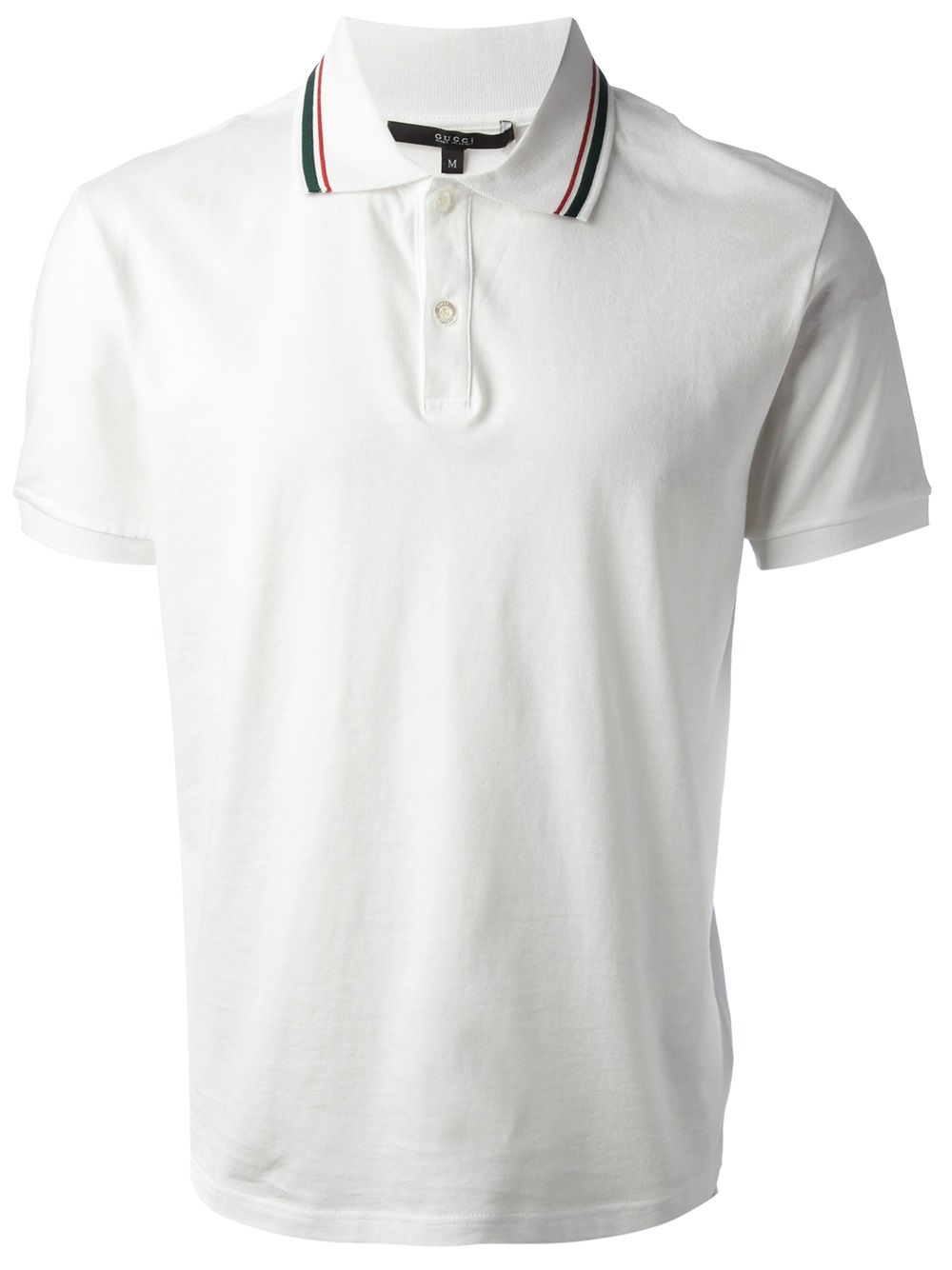 2484e81fcc06 Lyst - Gucci Classic Polo Shirt in White for Men