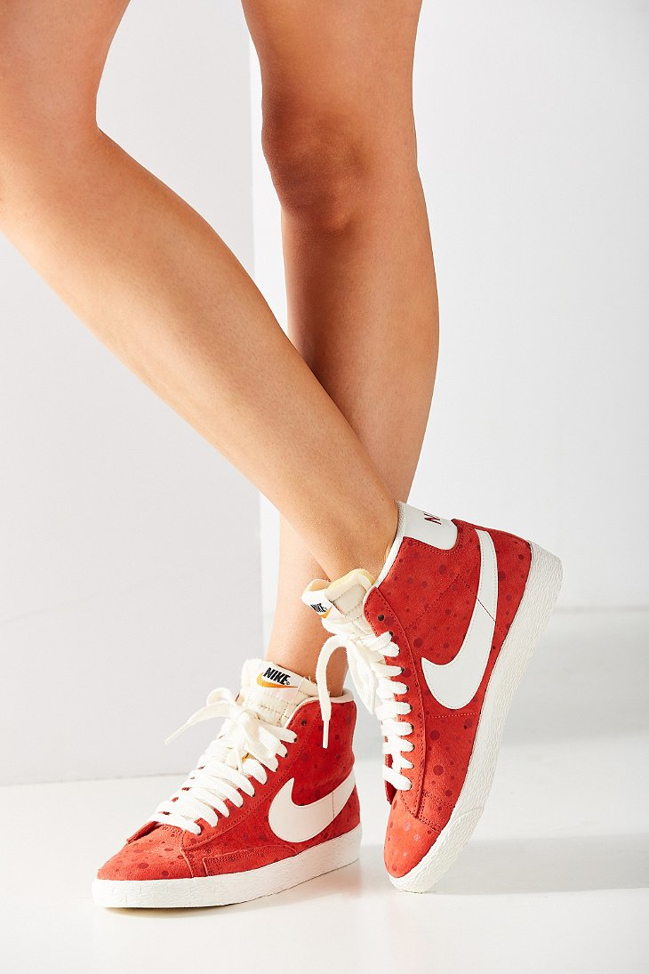 Venta Barata Barata Comprar Barato La Mejor Venta Nike Wmns Blazer Mid Suede Vintage Red Obtenga La Auténtica Menos De 50 Dólares A71shQlqRD