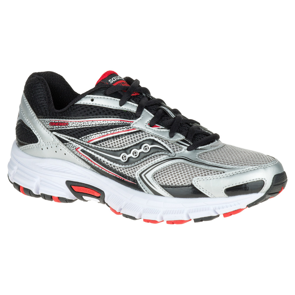 Saucony Cohesion  Red And Black Shoes