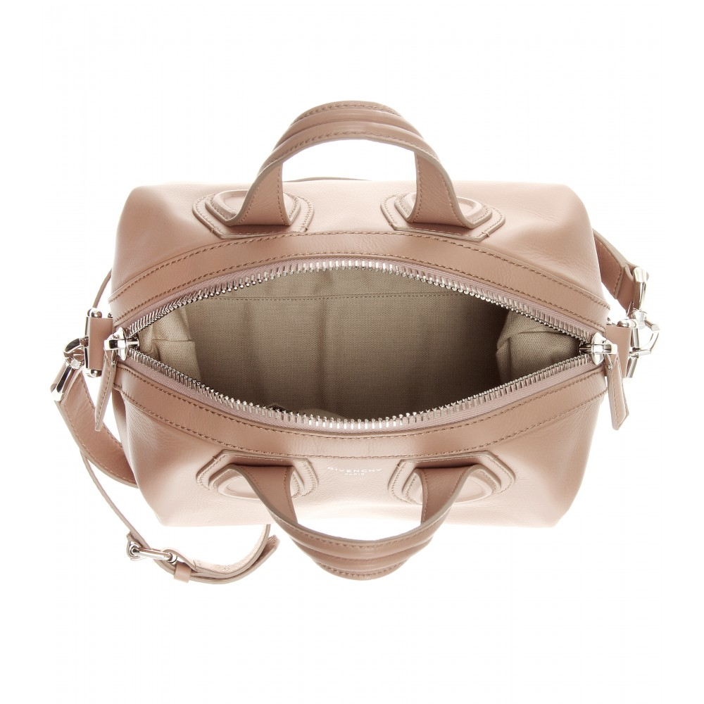 d3565968d7 Lyst - Givenchy Nightingale Small Leather Tote in Pink