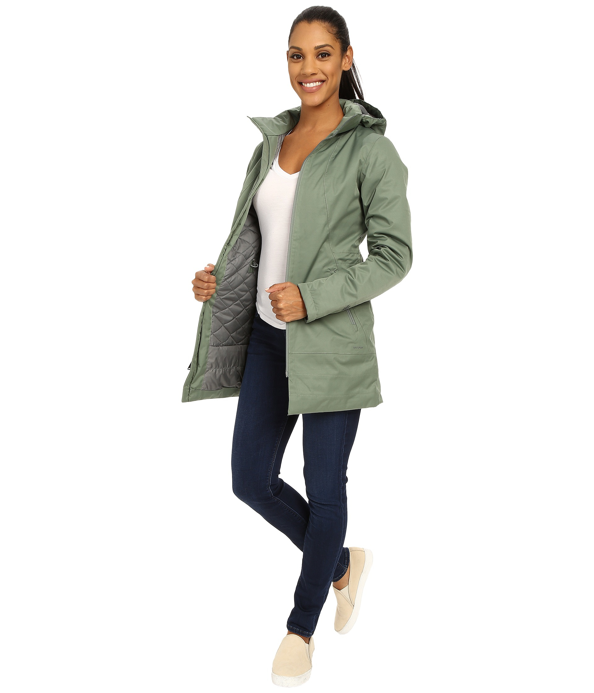 The north face Insulated Ancha Parka in Green