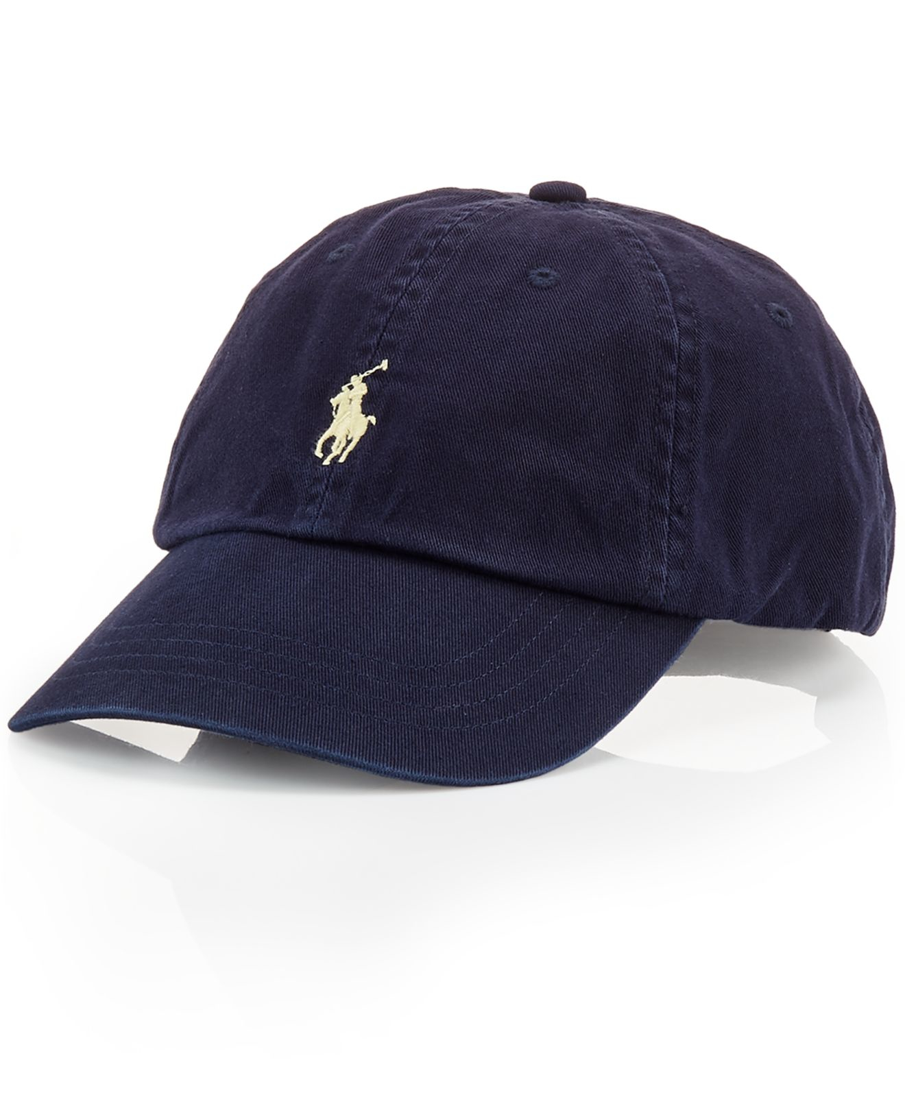 polo ralph lauren blue classic chino sports cap for men. Black Bedroom Furniture Sets. Home Design Ideas