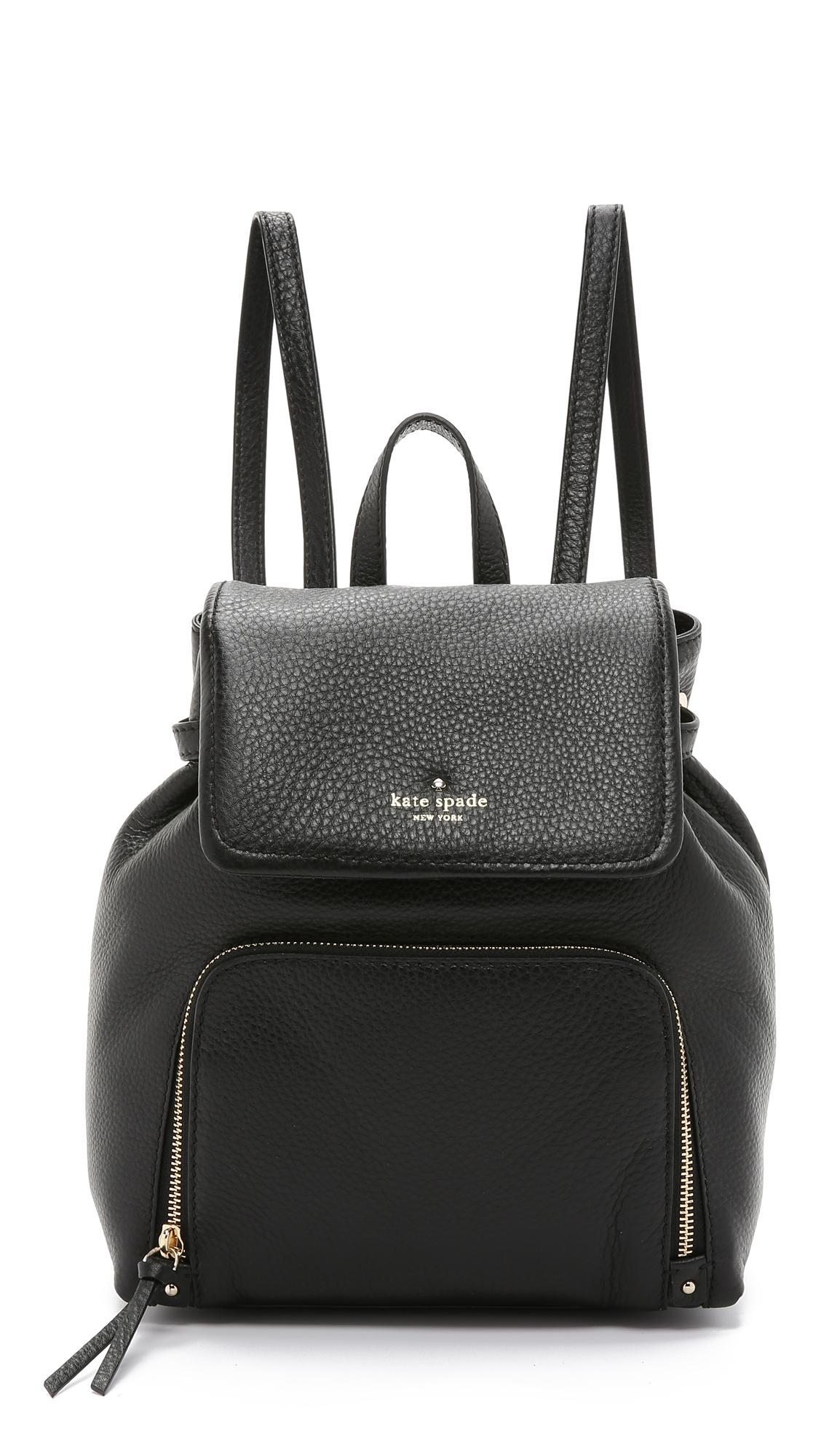 Kate spade Charley Backpack in Black | Lyst