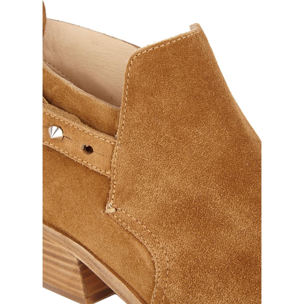 rag bone sullivan ankle boots in beige beige tan lyst. Black Bedroom Furniture Sets. Home Design Ideas